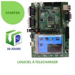 DevTools Starter sur kit STM3210C-EVAL
