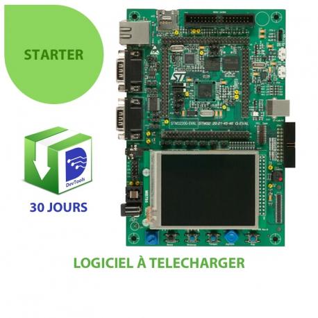 DevTools Starter sur kit STM3220G-EVAL