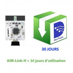 AIM-Link-H + 30 jours d'utilisation